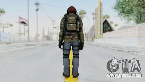 CoD AW KVA Assault for GTA San Andreas third screenshot