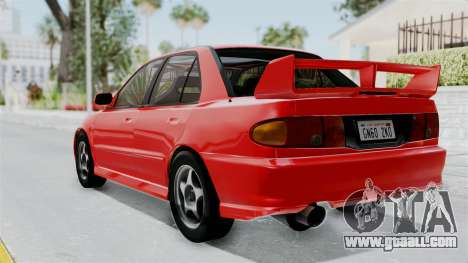 Mitsubishi Lancer Evolution III 1996 (CE9A) for GTA San Andreas left view