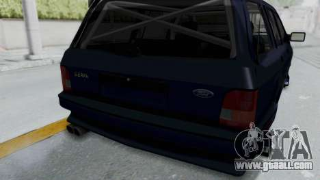 Ford Sierra Turnier 4x4 Saphirre Cosworth for GTA San Andreas side view