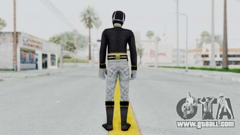 Power Rangers Megaforce - Black for GTA San Andreas third screenshot