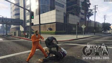 GTA 5 Amazing Spiderman - black suit third screenshot