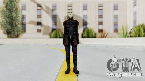 Mass Effect 1 Asari Clone Commando for GTA San Andreas second screenshot