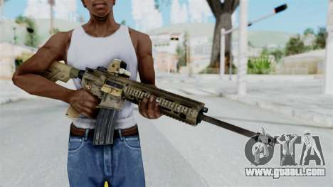 HK416A5 Assault Rifle for GTA San Andreas third screenshot