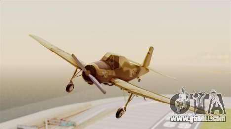 Z-37 Cmelak for GTA San Andreas back left view