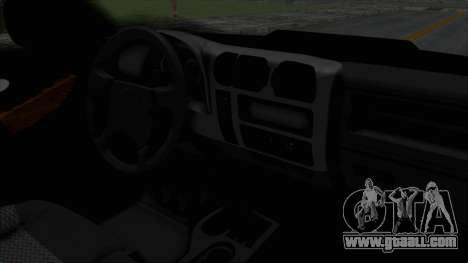 Chevrolet S10 Policia Caminera Paraguaya for GTA San Andreas right view