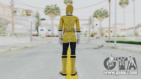 Power Rangers Samurai - Yellow for GTA San Andreas third screenshot