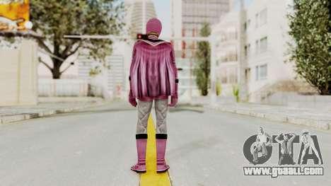 Power Rangers Mystic Force - Pink for GTA San Andreas third screenshot
