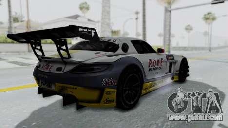 Mercedes-Benz SLS AMG GT3 PJ7 for GTA San Andreas inner view