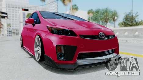 Toyota Prius 2011 Elegant Modification for GTA San Andreas