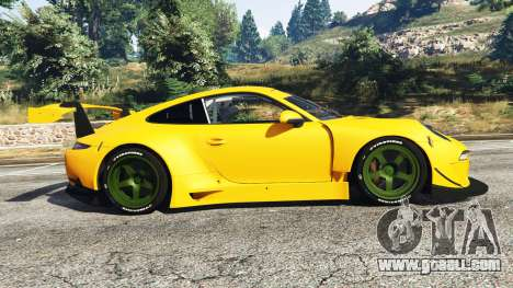 GTA 5 Ruf RGT-8 left side view