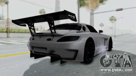 Mercedes-Benz SLS AMG GT3 PJ7 for GTA San Andreas right view