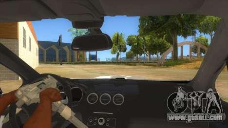 Peugeot 308 Full Sport for GTA San Andreas inner view