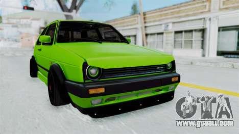 Volkswagen Golf Mk2 R36 for GTA San Andreas