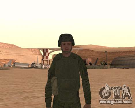 Private motorized rifle troops for GTA San Andreas seventh screenshot