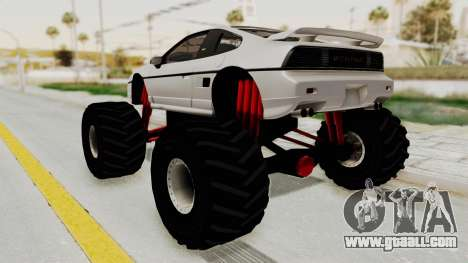 Pontiac Fiero GT G97 1985 Monster Truck for GTA San Andreas left view