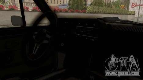 Volkswagen Golf Mk1 GTI for GTA San Andreas inner view
