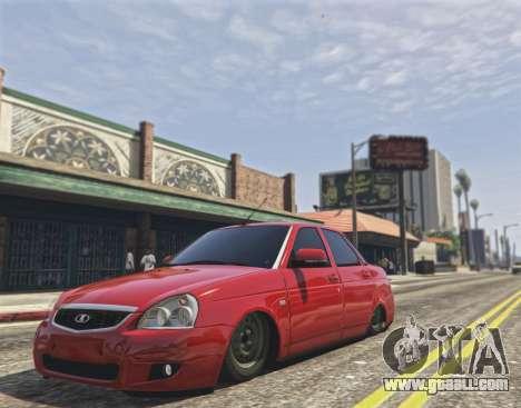 Lada Priora VAZ 2170 for GTA 5