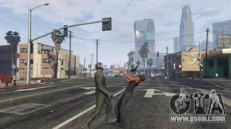 GTA 5 Amazing Spiderman - black suit fifth screenshot