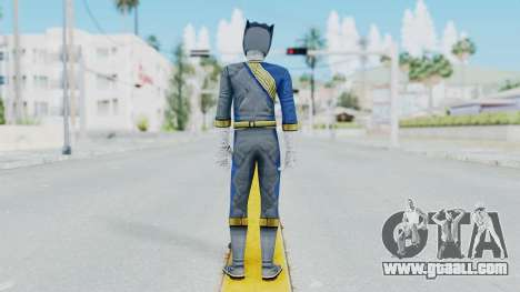 Power Rangers Wild Force - Wolf for GTA San Andreas third screenshot