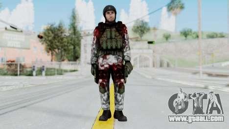 Black Mesa - Wounded HECU Marine v3 for GTA San Andreas second screenshot
