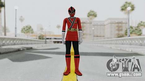 Power Rangers Samurai - Red 2 for GTA San Andreas second screenshot