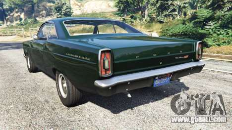 GTA 5 Ford Fairlane 500 1966 rear left side view
