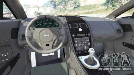GTA 5 Aston Martin V12 Zagato rear right side view