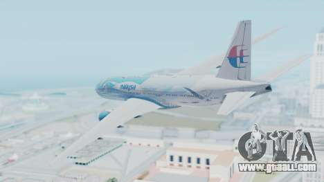 Boeing 777-2H6ER Malaysia Airlines for GTA San Andreas left view