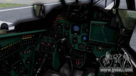 Mi-24V GDR Air Force 45 for GTA San Andreas inner view