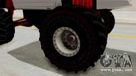Pontiac Fiero GT G97 1985 Monster Truck for GTA San Andreas right view