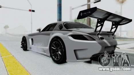 Mercedes-Benz SLS AMG GT3 PJ7 for GTA San Andreas left view