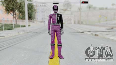Power Rangers S.P.D - Pink for GTA San Andreas second screenshot