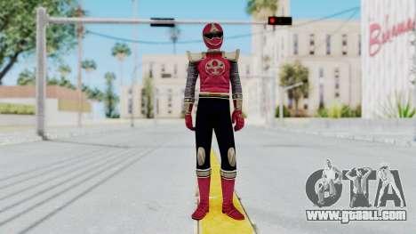 Power Rangers Ninja Storm - Crimson for GTA San Andreas second screenshot