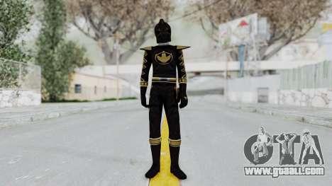 Power Rangers Dino Thunder - Black for GTA San Andreas second screenshot