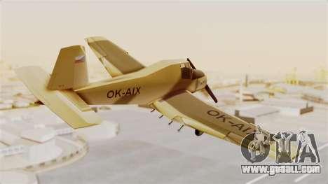 Z-37 Cmelak for GTA San Andreas right view