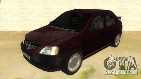 Dacia Logan Sport for GTA San Andreas