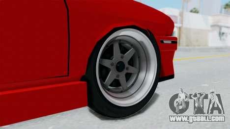 Dacia 1310 Tuning for GTA San Andreas back left view