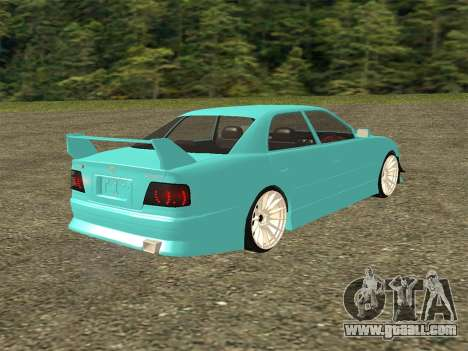 Toyota Chaser JZX100 for GTA San Andreas left view