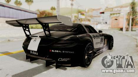 Mercedes-Benz SLS AMG GT3 PJ2 for GTA San Andreas side view