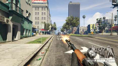 GTA 5 Self-loading carbine Simonov fourth screenshot