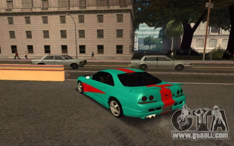 Nissan Skyline R33 Tunable for GTA San Andreas right view