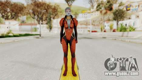 Mass Effect 2 Samara Red for GTA San Andreas second screenshot