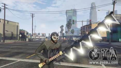GTA 5 Amazing Spiderman - black suit eighth screenshot