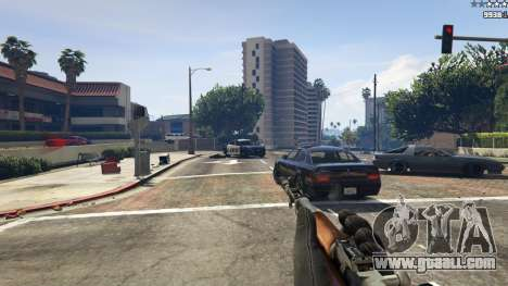 GTA 5 Self-loading carbine Simonov fifth screenshot