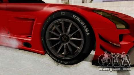 Mercedes-Benz SLS AMG GT3 PJ2 for GTA San Andreas back view