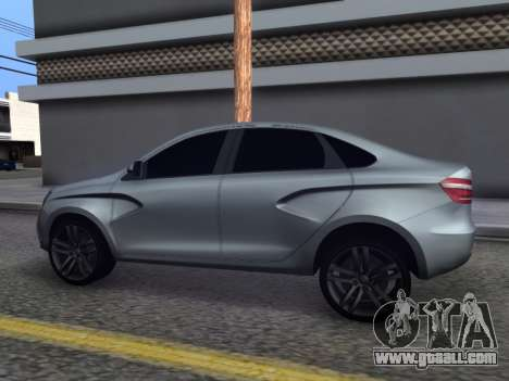 Lada Vesta HD (beta) for GTA San Andreas left view