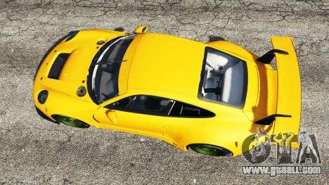 GTA 5 Ruf RGT-8 back view