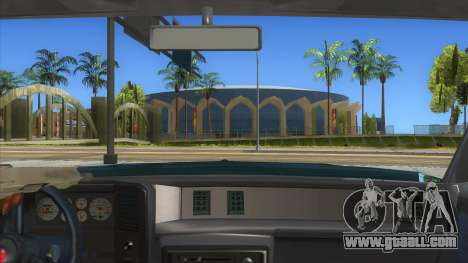 Chevrolet Monte Carlo 81 for GTA San Andreas inner view