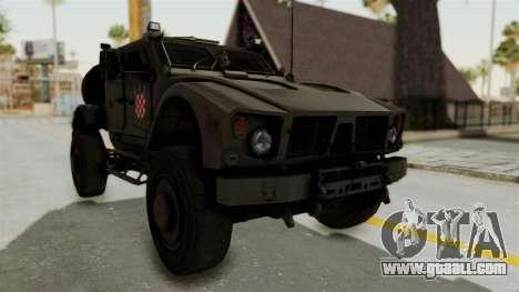 Croatian Oshkosh M-ATV Desert for GTA San Andreas