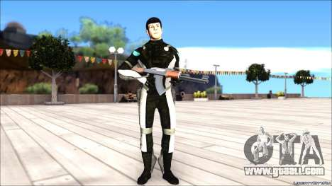 Star Trek Spock for GTA San Andreas second screenshot